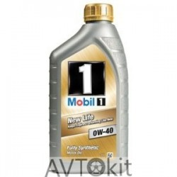 New Life 0W-40, л Mobil 1