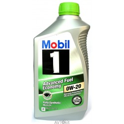 Mobil 1 0W20 Advanced Fuel Economy